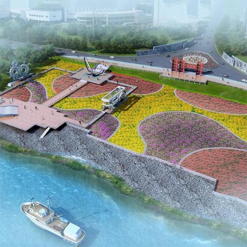 沈家营码头公园整体设计方案