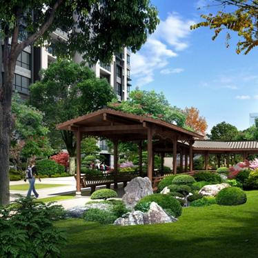如意新世纪住宅小区 景观方案