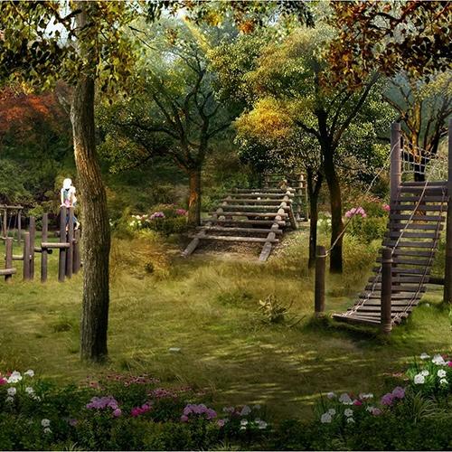 湖北黄石市大众山公园景观设计2