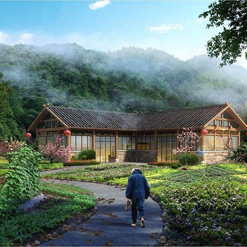 深圳黄石市大众山公园景观设计